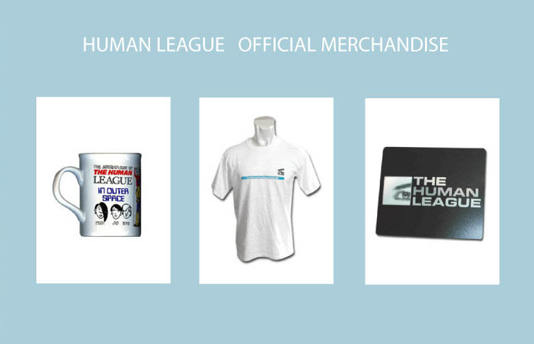 The Human League Merchandise Mugs T-Shirts Mousemats